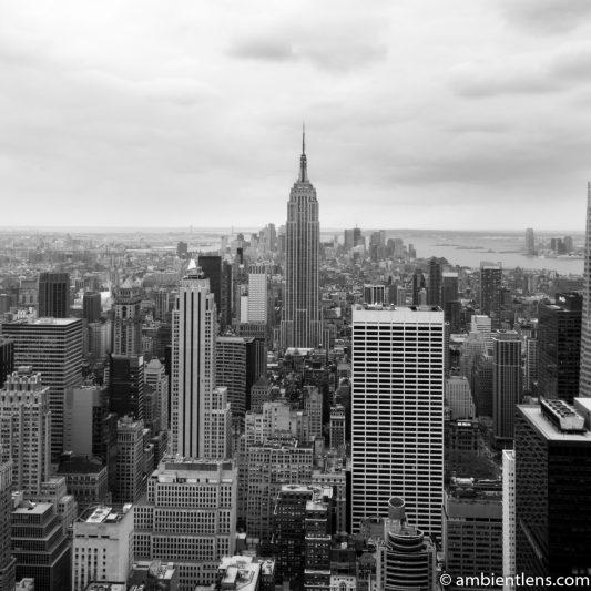 New York City Buildings 3 (BW SQ)