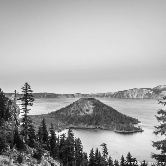 Crater Lake 5 (BW SQ)