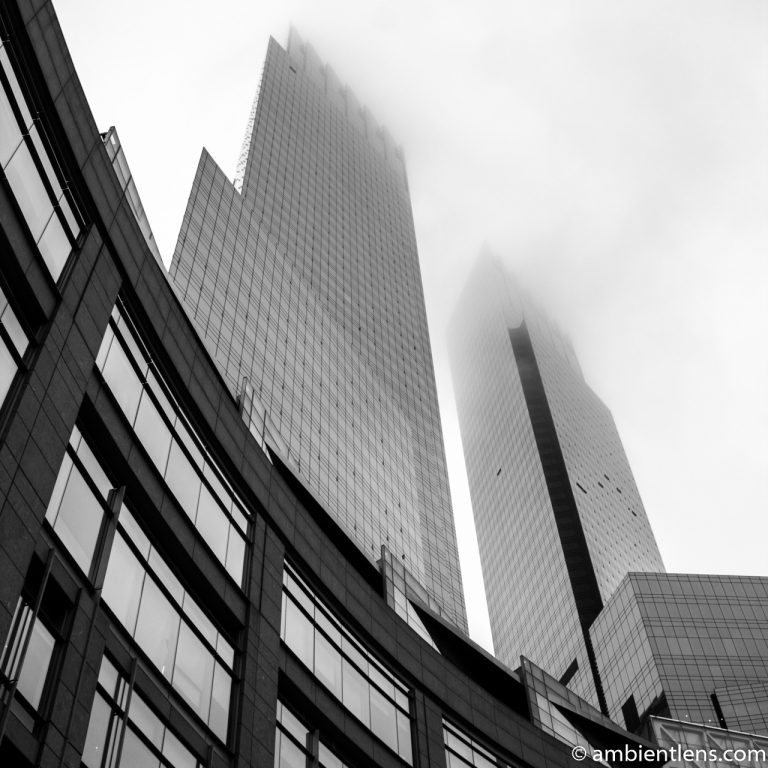 Time Warner Building, New York 2 (BW SQ)