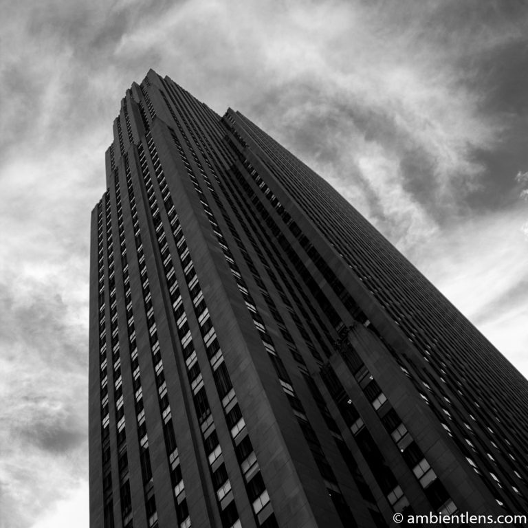Rockefeller Center, New York 1 (BW SQ)