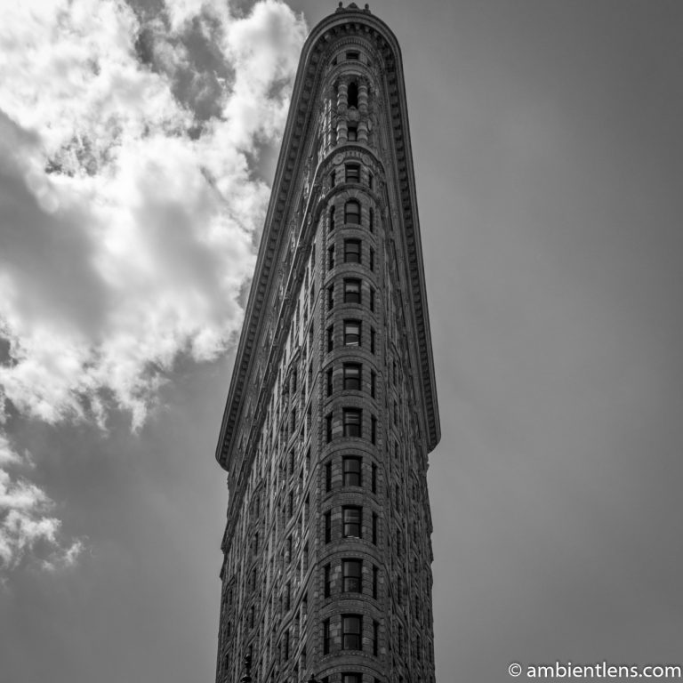Flat Iron Building, New York 1 (BW SQ)