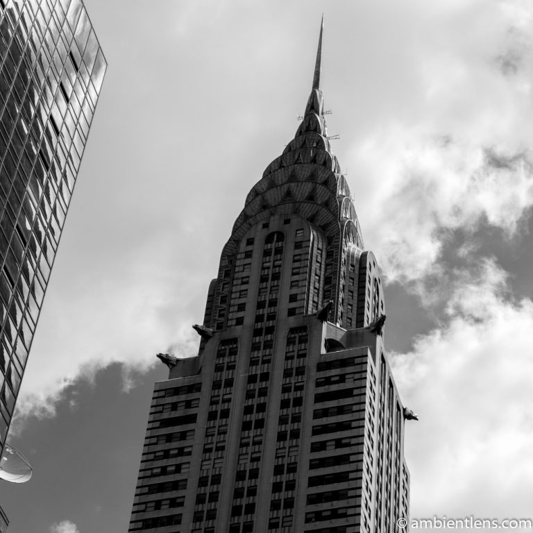 Chrysler Building, New York 1 (BW SQ)