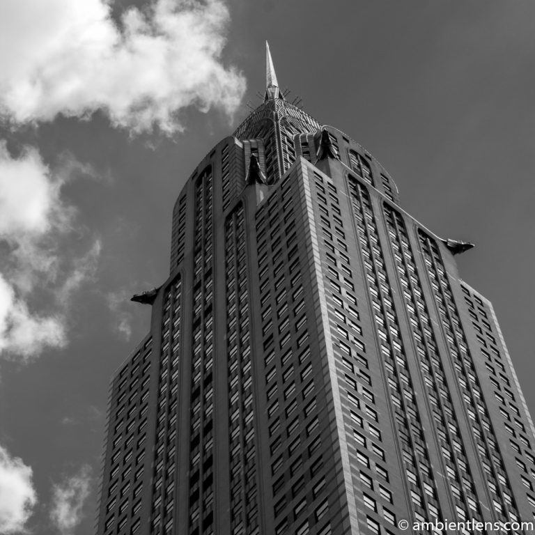 Chrysler Building, New York 2 (BW SQ)