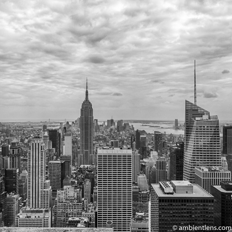 New York City Buildings 1 (BW SQ)