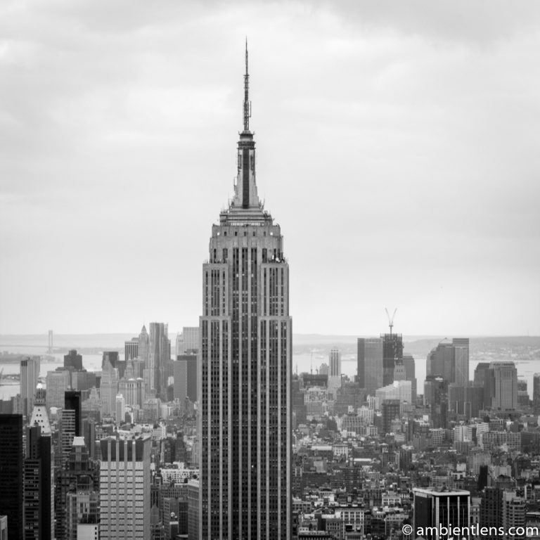 Empire State Building 2 (BW SQ)