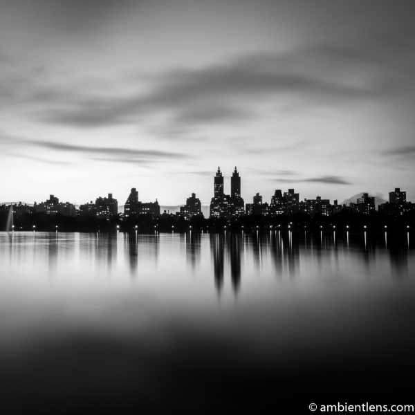 Jacqueline Kennedy Onassis Reservoir and West Side Buildings 1 (