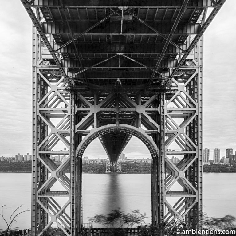 George Washington Bridge 2 (BW SQ)