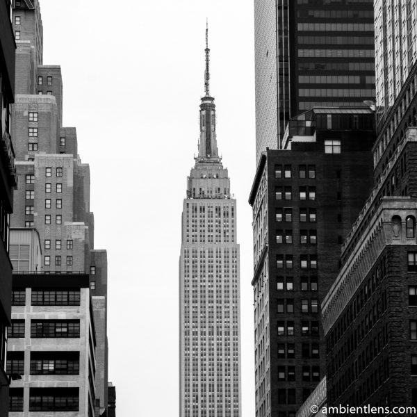 Empire State Building 9 (BW SQ)