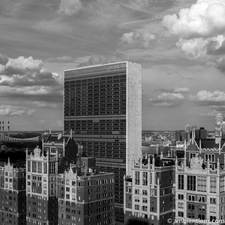United Nations, New York 1 (BW SQ)