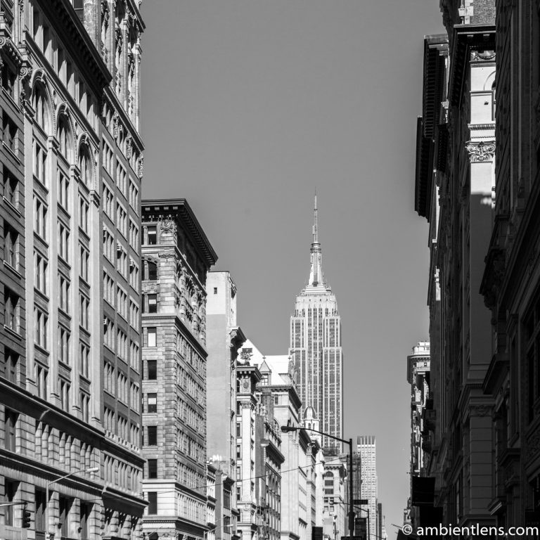 New York City Buildings 5 (BW SQ)
