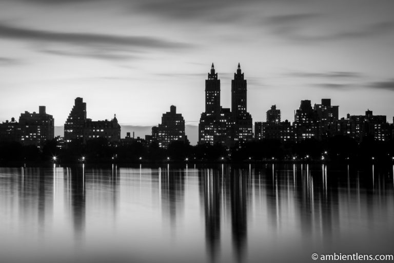 Jacqueline Kennedy Onassis Reservoir and West Side Buildings 2 (