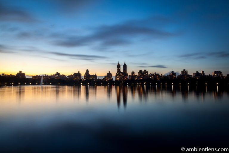 Jacqueline Kennedy Onassis Reservoir and West Side Buildings 1