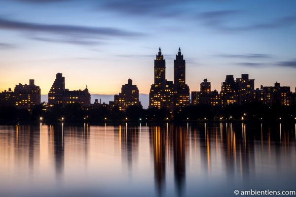 Jacqueline Kennedy Onassis Reservoir and West Side Buildings 2
