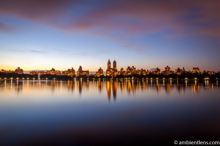 Jacqueline Kennedy Onassis Reservoir and West Side Buildings 3