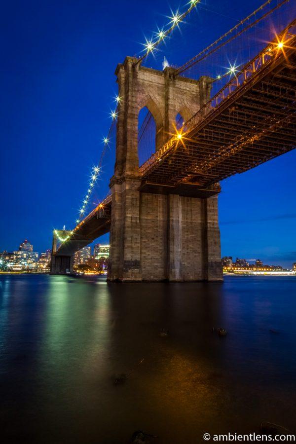 Brooklyn Bridge in Blue Light 5