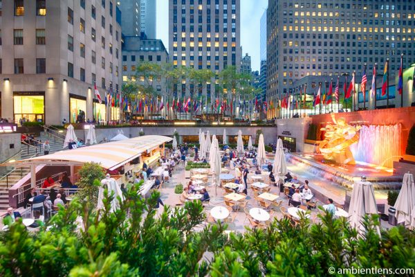 Rockefeller Center Summer Garden and Bar, New York 1