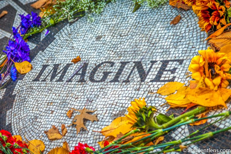 Strawberry Fields' Imagine, Central Park, New York