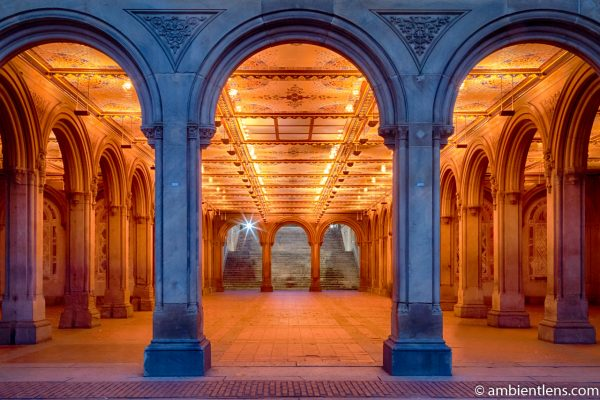 The Interior of Central Park's Bethesda Terrace 1