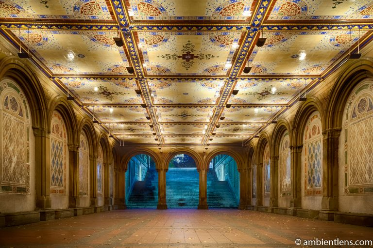 The Interior of Central Park's Bethesda Terrace 2
