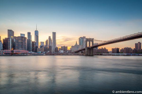 Sunset in Lower Manhattan, New York 2
