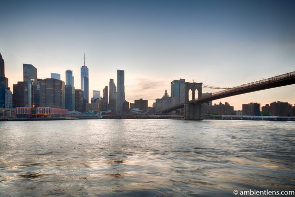 Sunset in Lower Manhattan, New York 4