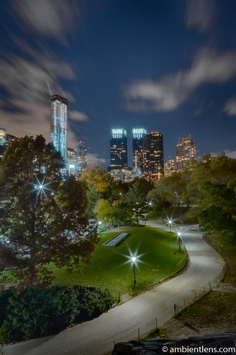 Central Park at Night 1