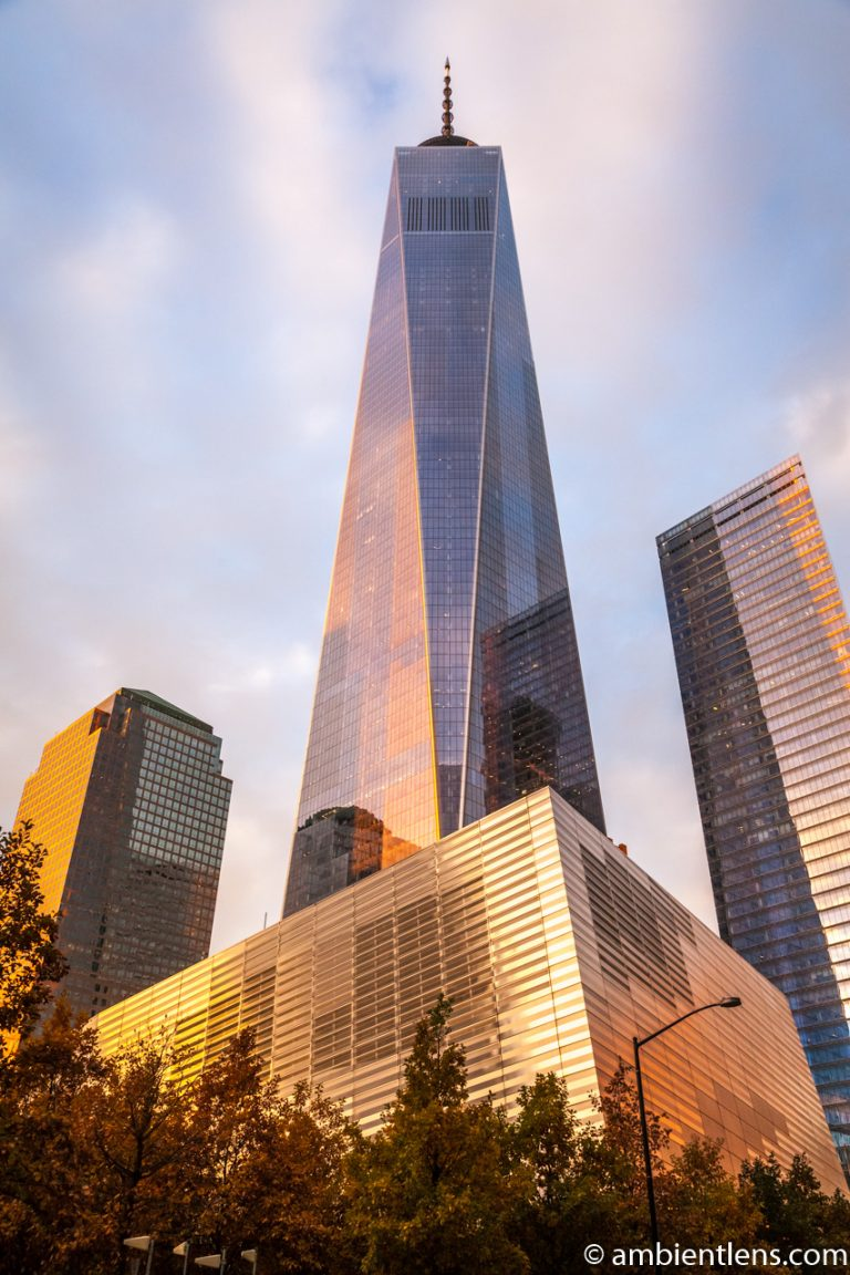 New York's Freedom Tower at Sunset 1