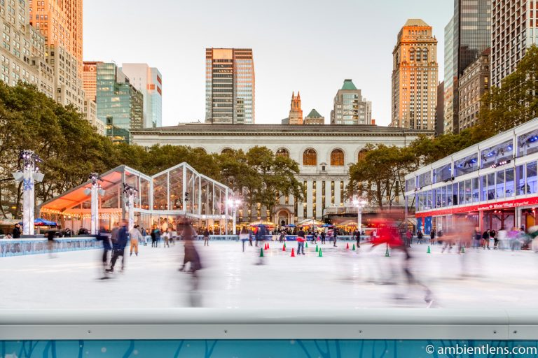 Bryant Park Skating Rink, New York
