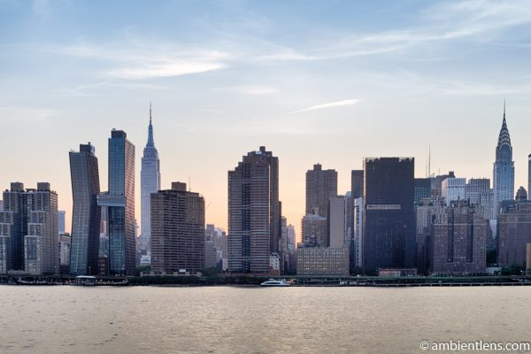 Midtown Manhattan and the East River at Sunset 7