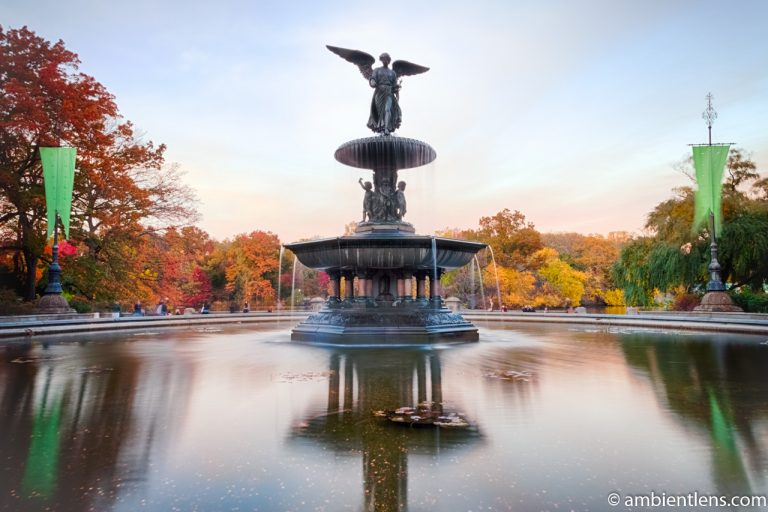 Bethesda Fountain Golden Autumn 1