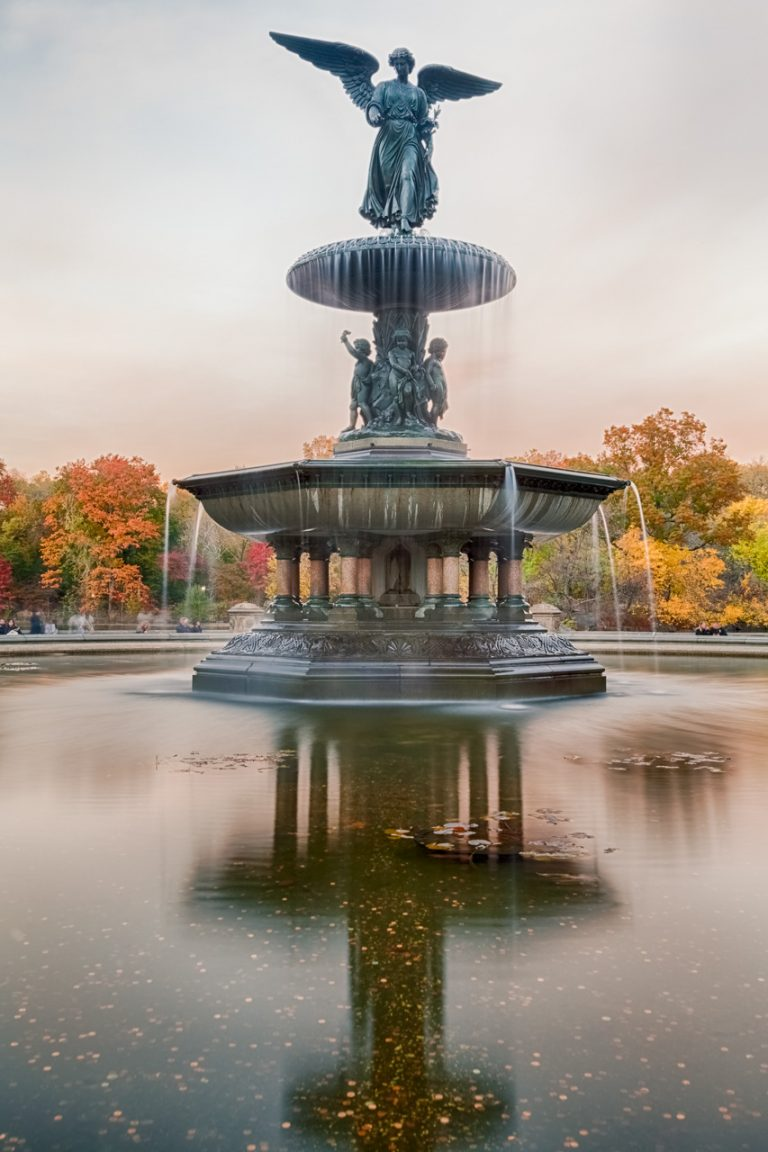 Bethesda Fountain Golden Autumn 2