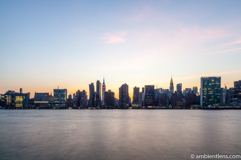 Midtown Manhattan and the East River at Sunset 5