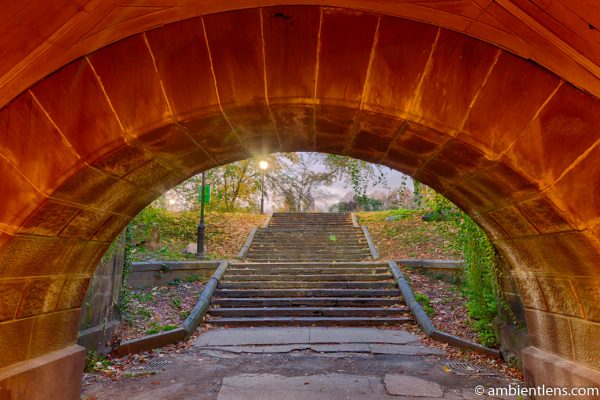A Tunnel in Central Park