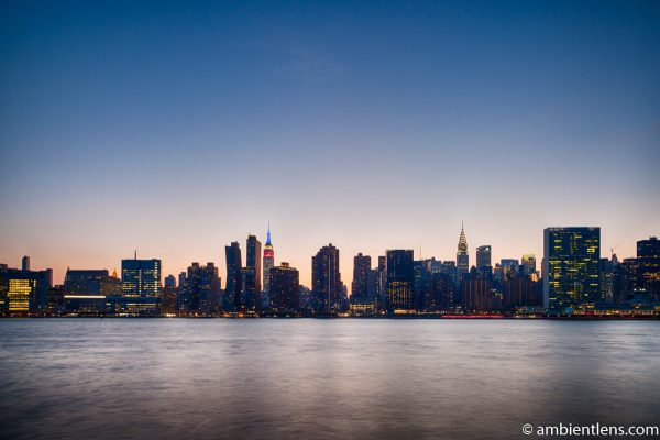 Midtown Manhattan and the East River at Sunset 9