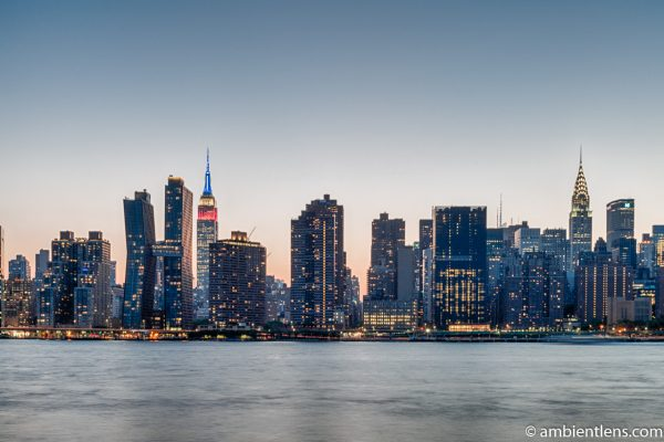 Midtown Manhattan and the East River at Sunset 10