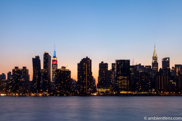 Midtown Manhattan and the East River at Sunset 6
