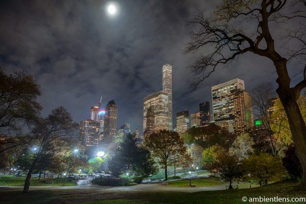 Central Park at Night 2