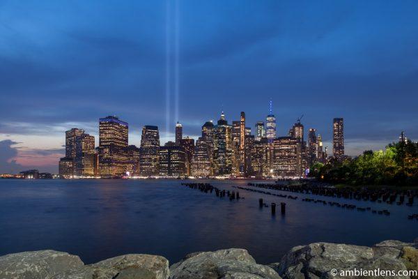 September 11 Twin Lights in Lower Manhattan, New York 4