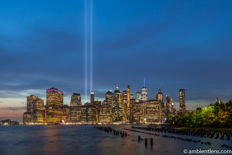 September 11 Twin Lights in Lower Manhattan, New York 3