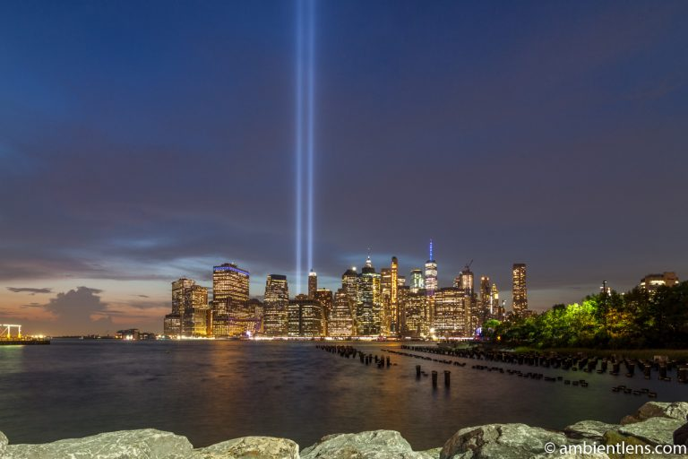 September 11 Twin Lights in Lower Manhattan, New York 2