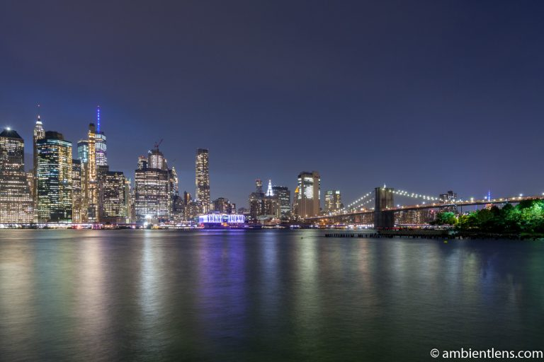 Lower Manhattan and the Hudson River at Night 9