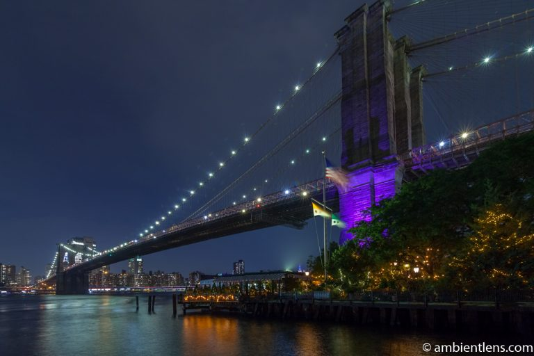 Brooklyn Bridge in Blue Light 6