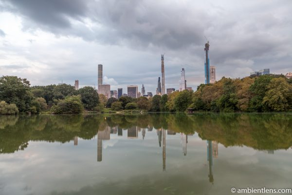 Reflection on The Lake at Central Park 7