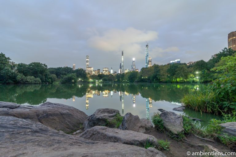 Reflection on The Lake at Central Park 4