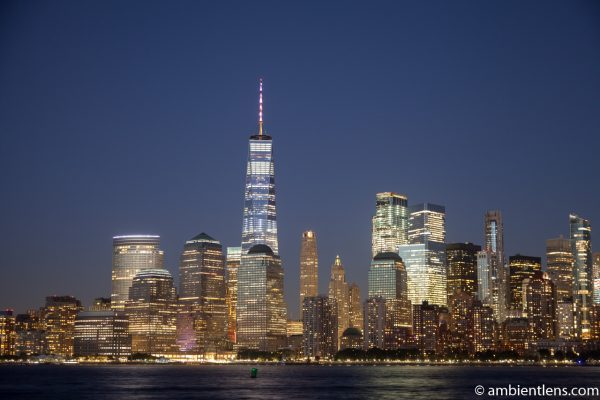 Lower Manhattan and the Hudson River at Night 7
