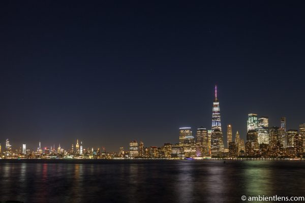 Lower Manhattan and the Hudson River at Night 3