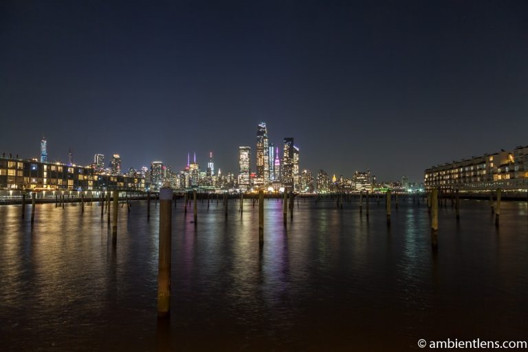 Midtown Manhattan and the Hudson River at Night 1