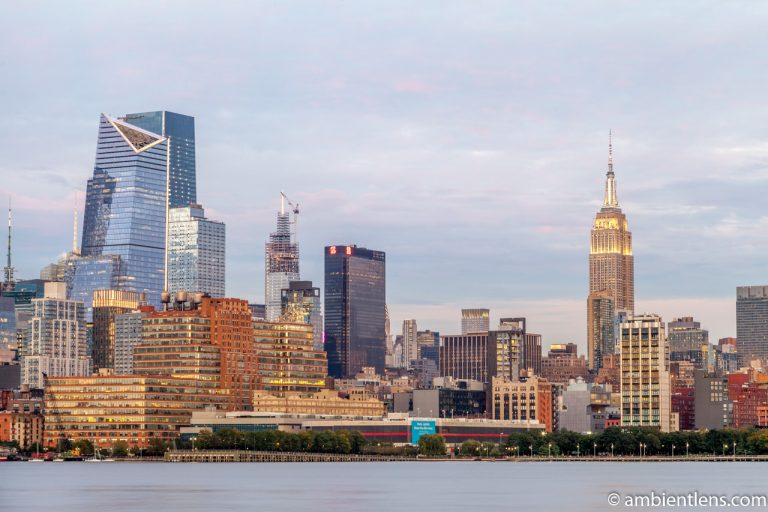 Midtown Manhattan and the Hudson River at Sunset 5