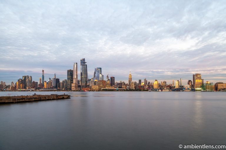 Midtown Manhattan and the Hudson River at Sunset 4