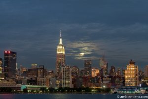 Moonrise over Manhattan, New York 5